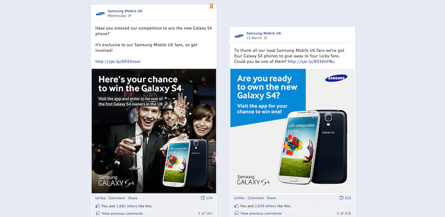 Galaxy S4 App Promotion