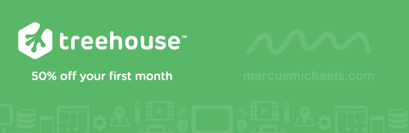 Learn to code with Treehouse