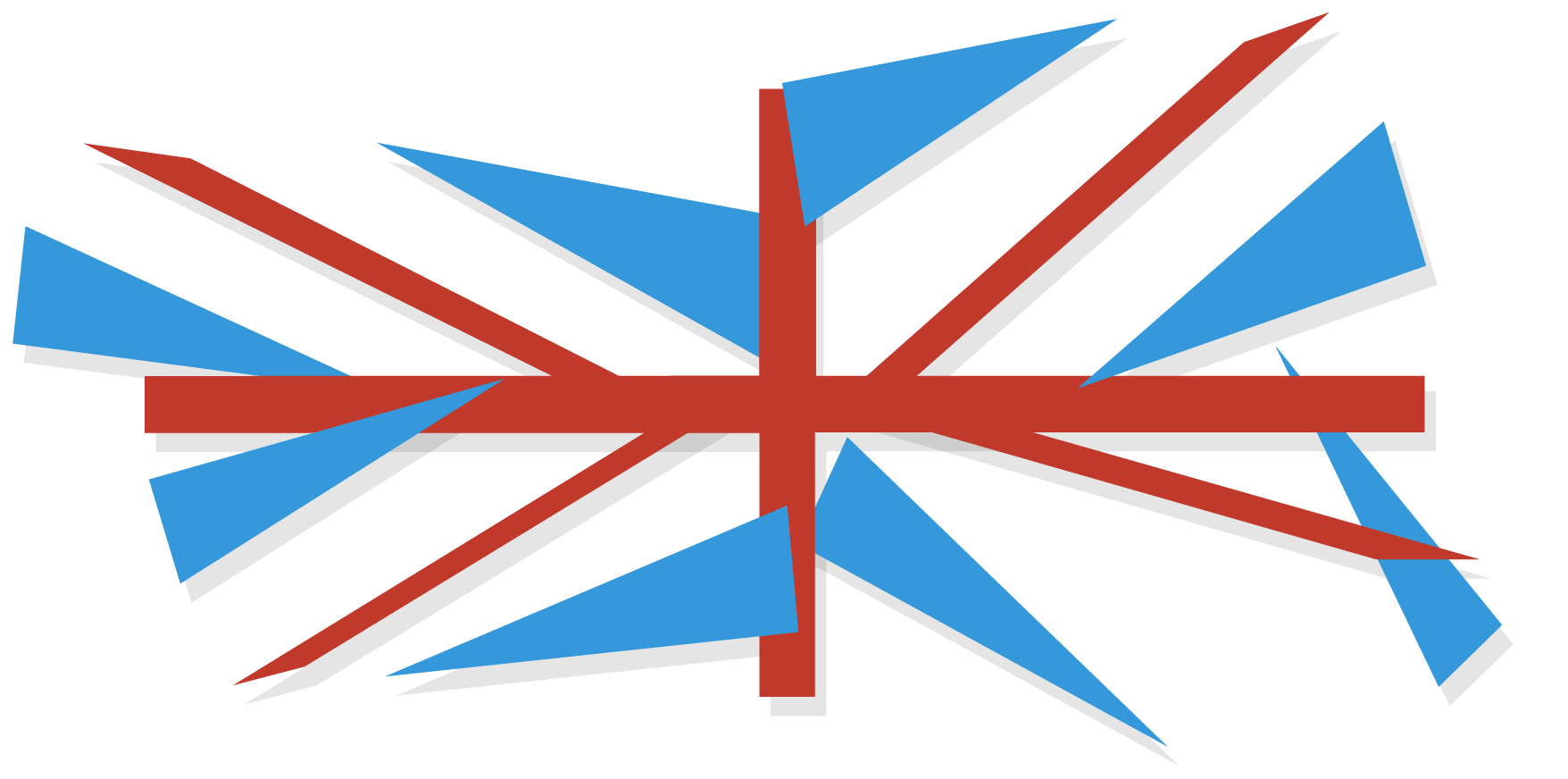 British Flag by Marcus