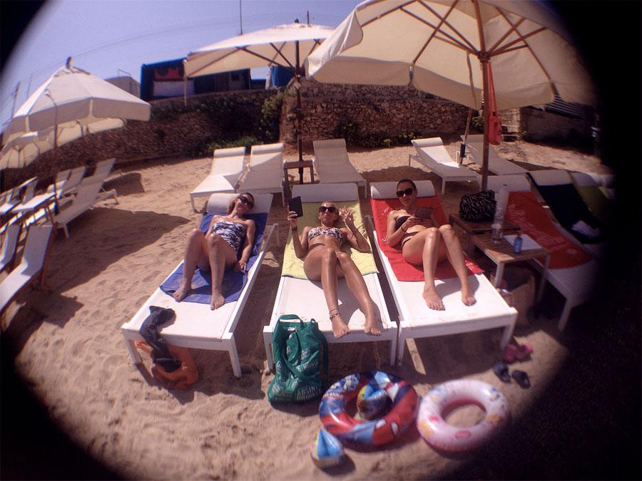 Anna, Charlotte and Yana