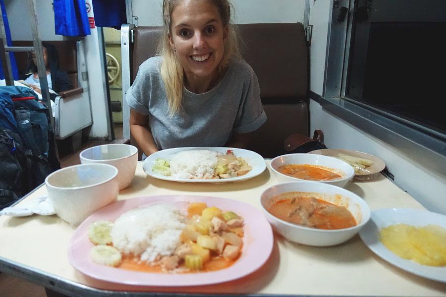 train-food