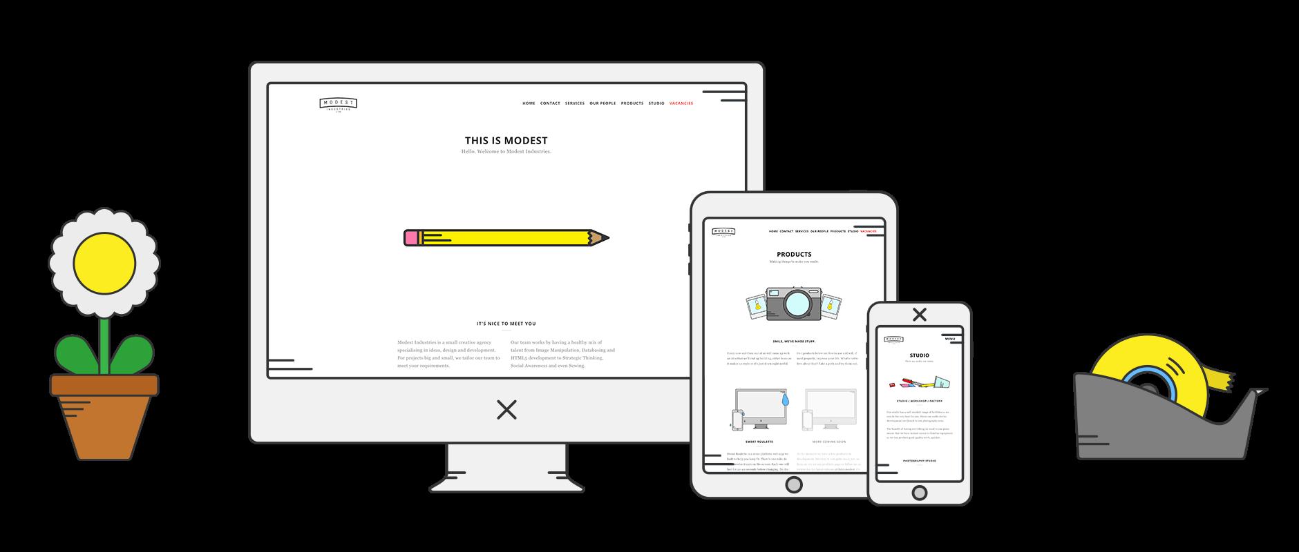 modest-industries-responsive-website-launch