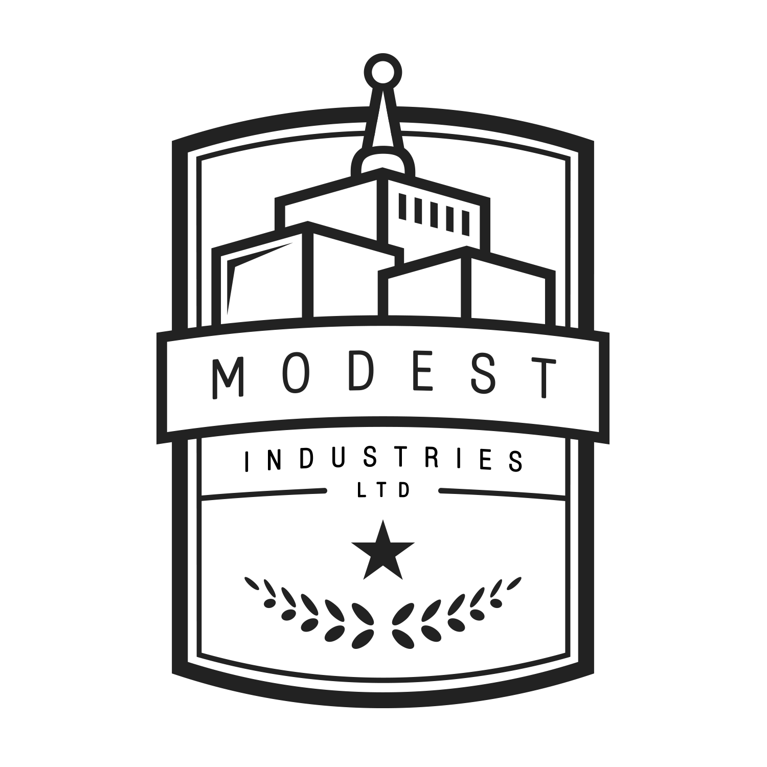 Modest Industries Badge